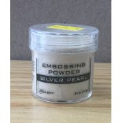 EPJ37514 - Po Artesanal - Specialty 1 Embossing Powders 1 oz. Jar - Silver Pearl