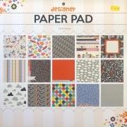 Bloco de Papéis Coordenados Paper Pad Designer 12