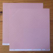 Papel Scrap - Listrado Chiclete - Coleção Stripes - Papelero (FB1017)