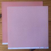 Papel Scrap - Xadrezinho Chiclete - Coleção Chess - Papelero (FB1028)