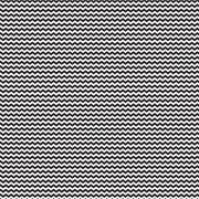 Papel Scrap - Mini Chevron P&B - Coleção Chevron - Papelero (FB1034)