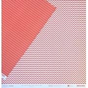 Papel Scrap - Mini Chevron Rubi - Coleção Chevron - Papelero (FB1045)