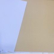 Papel Scrap - Bubble Areia - Coleção Pattern - Papelero (FB1068)