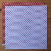 Papel Scrap - India Rubi - Coleção Pattern - Papelero (FB1091)