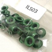 "Ilhós 3/4"" (25 unidade)  - Verde II (ILS03)"