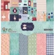 Kit Coordenado - Coleção Mundo Mágico - JuJu Scrapbook (7783)