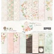 Kit Coordenado - Coleção Shabby Dreams - JuJu Scrapbook (8109)