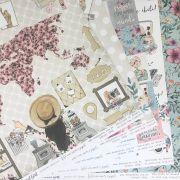 Kit Papéis Coleção Travel Girl - Dany Peres