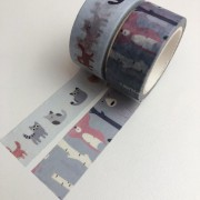 Kit Washi Tapes Bichinhos (washi16)