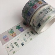 Kit Washi Tapes Cactos (washi13)
