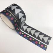 Kit Washi Tapes Setas e Flores (washi12)