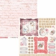 Papel Scrap - Coleção Little Heart - Carina Sartor (LIH06)