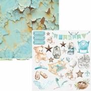 Papel Scrap - Coleção Little Star - Carina Sartor (LIS01)