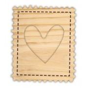 Mini Álbum Selo de Amor - Coleção Cartas para Você - Juju Scrapbook (11655)