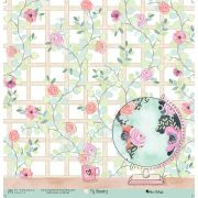 Papel Scrap - My Peace - Coleção My Blessing - My Memories Crafts (MMCMBL-03)