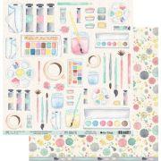 Papel Scrap - My Colorful Life - Coleção My Crafts - My Memories Crafts (MMCMC-03)