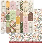 Papel Scrap - My Simple Life - Coleção My Garden - My Memories Crafts (MMCMG-02)