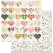 Papel Scrap - My Great Love - Coleção My Garden - My Memories Crafts (MMCMG-04)