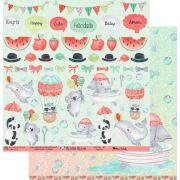 Papel Scrap - My Fun - Coleção My Little Big Love - My Memories Crafts (MMCML-01)