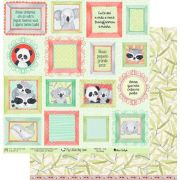 Papel Scrap - My Baby - Coleção My Little Big Love - My Memories Crafts (MMCML-04)