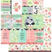 Papel Scrap - My Sunshine - Coleção My Little Big Love - My Memories Crafts (MMCML-05)