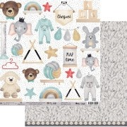 Papel Scrap - My Baby's Wall - Coleção My Wall - My Memories Crafts (MMCMWA-01)