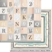Papel Scrap - My Frames - Coleção My Wall - My Memories Crafts (MMCMWA-06)