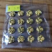 Adesivo Florzinhas Douradas (MP05)