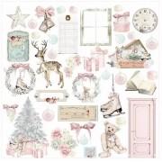 Papel Scrap - Caixa de Enfeites - Coleção Histórias de Natal - Dany Peres (DP-HN-04)