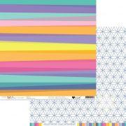 Papel Scrap - Espalhe Cores - Coleção Boas Vibrações - It Lov