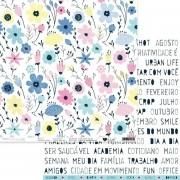 Papel Scrap - Flores falam - Coleção Urban Life - It Lov