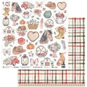 Papel Scrap - My Country Life 01 - My Memories Crafts (MMCMCL-01)
