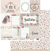 Papel Scrap - My Country Life 02 - My Memories Crafts (MMCMCL-02)