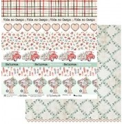 Papel Scrap - My Country Life 03 - My Memories Crafts (MMCMCL-03)