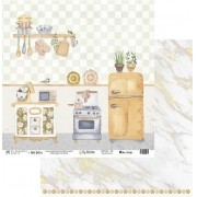 Papel Scrap - My Kitchen - Coleção My Kitchen - My Memories Crafts (MMCMK-06)