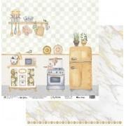 Papel Scrap - My Kitchen - Coleção My Kitchen - My Memories Crafts (MMCMK-06)