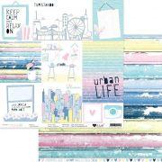 Papel Scrap - Turistando - Coleção Urban Life - It Lov