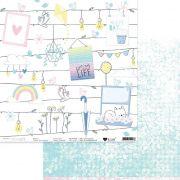 Papel Scrap - Varal dos Sonhos - Coleção Urban Life - It Lov