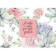 Planner semanal - A vida tem a cor - Arte Fácil (PL-004)