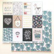 Papel Scrap - Cards Bem Estar - Coleção Bem Estar - Goodies (PP126)