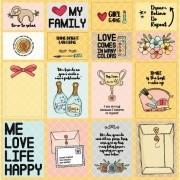 Papel Scrap - Cards - Coleção Essencial - Goodies (PP149)