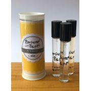 Perfume para papel com 3 aromas (15 ml cada) - Soft, Fantasy, Amor Infinito (Kit Romance|PP1560)