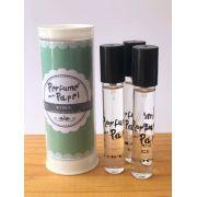 Perfume para papel com 3 aromas (15 ml cada) - Maçãzinha, Laranjinha, Maracujá (Kit Kids|PP1562)