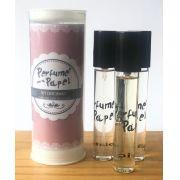 Perfume para papel com 3 aromas (15 ml cada) - Chocolate, Chiclete, Torta de Maçã (Kit Docinho|PP1565)