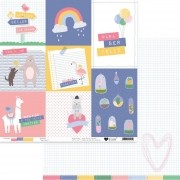 Papel Scrap - Meu Riso - Para Ser Feliz - It Lov (PSF0302)