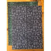 SB0025 - Papel A4 - Vida Escolar 5 - Studio Baunilha
