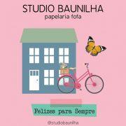SB004 - KIT FELIZES PARA SEMPRE - STUDIO BAUNILHA