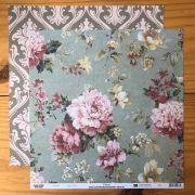 Papel Scrap - Floral - Arte Fácil (SC-073)
