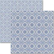 Papel scrap - Azulejo Português 5 - Arte Fácil (SC-310)