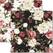 SC-318 - Papel Scrap - Floral 4 - Arte Fácil
